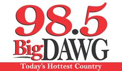98.5 BIG DAWG Logo