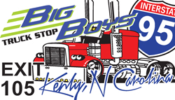 Big Bioys Truck Stop Logo