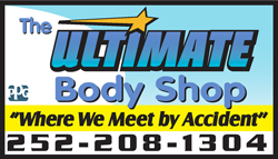 Ultimate Body Shop Logo
