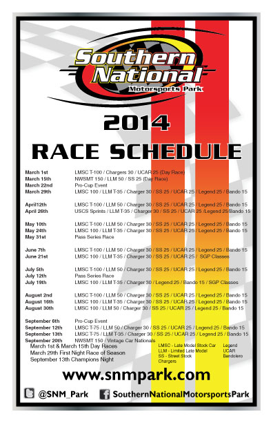 2014-Schedule-Updated-Schedule-2-1-2014