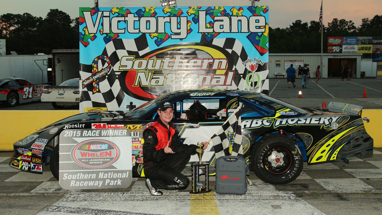 Andrew Grady Scores Redemption with Southern National Sweep