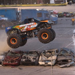 Monster Trucks Thrill Record Crowd at Southern National Motorsports Park