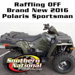 SNMP & D&J Cycles of Clayton, NC Raffling off 2016 Polaris Sportsman 450