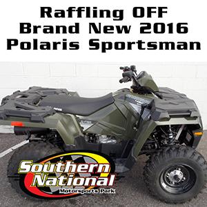 SNMP & D&J Cycles of Clayton, NC Raffling off 2016 Polaris Sportsman 450