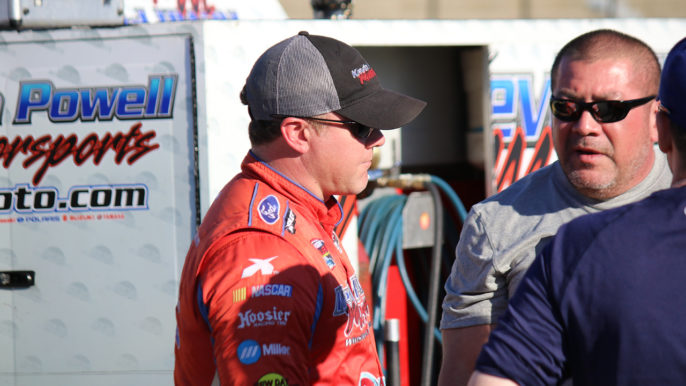 Brandon Ward Wants to Honor Fallen Crew Member with Southern National Win