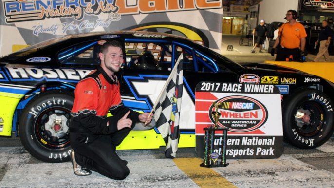 Andrew Grady Scores Upset Victory at Southern National