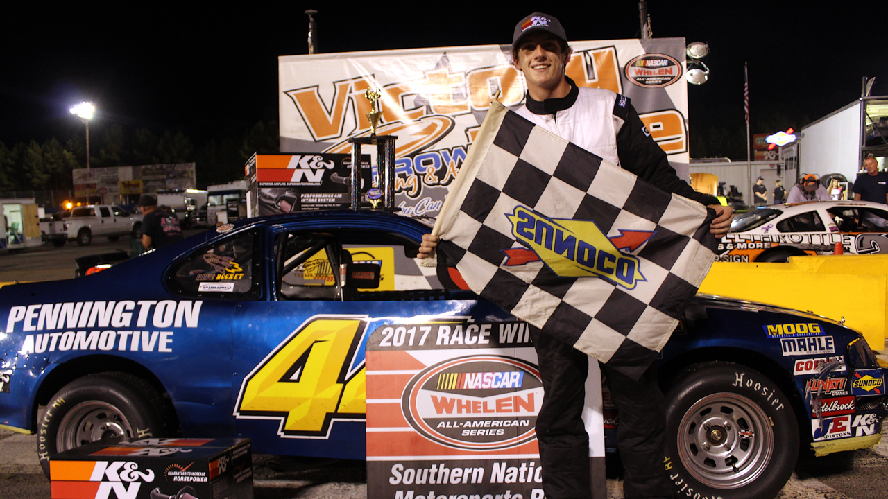 Breakthrough Driver Dylan Newsome Upsets Mini Stock Field