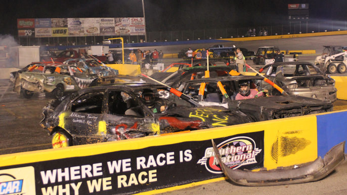 Day of Destruction Thrills Packed House at Southern National