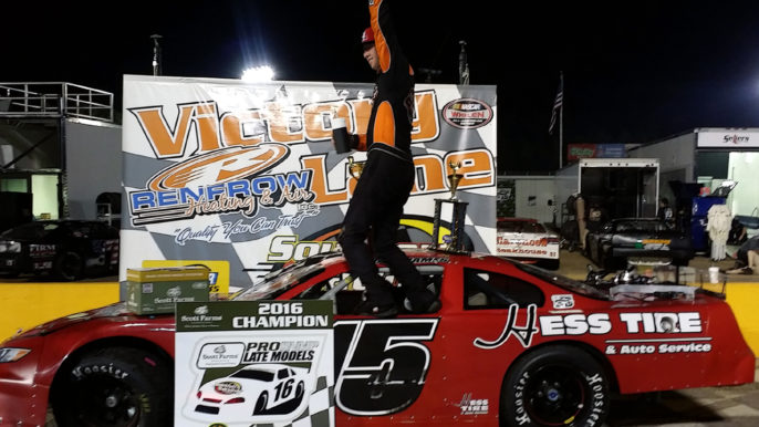 Pro Late Model Champion Colt James Living the Dream