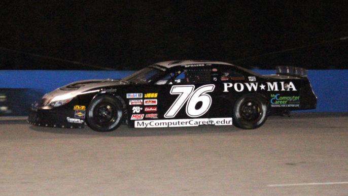 Jerick Johnson Racing POW/MIA Freedom Car at Southern National Motorsports Park
