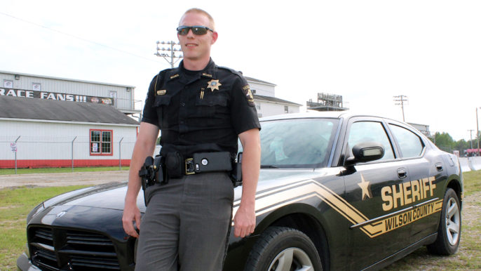 Wilson County Deputy Unwinds at the Track