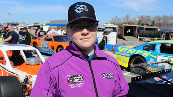 Blaise Brinkley to Make Late Model Debut at Southern National