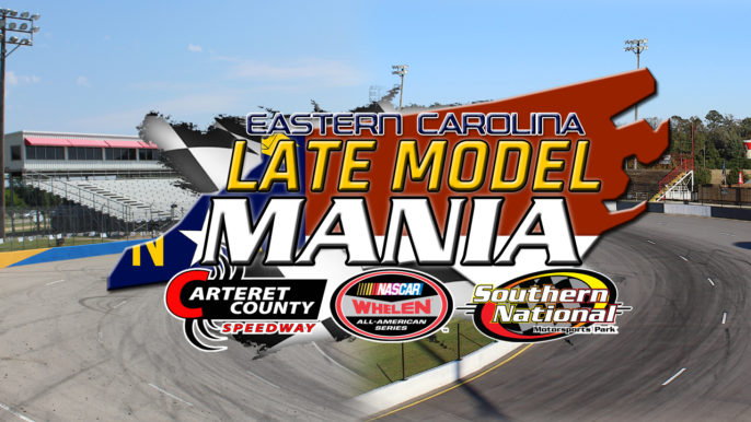 Southern National and Carteret County Team Up for Late Model Mania Series