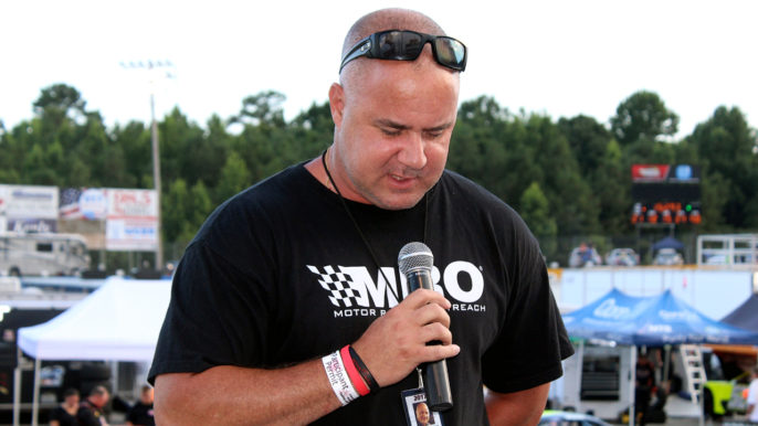 Track Chaplain Troy Pennington Serving More Than Just SNMP