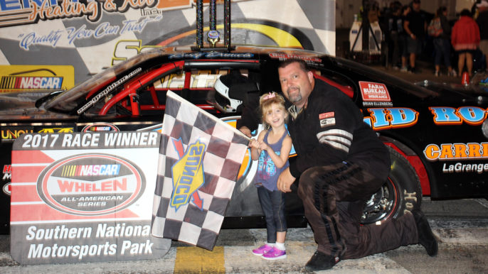 Rusty Daniels Snaps Winless Drought with Spooktacular Triumph