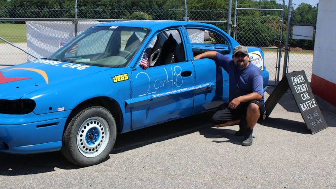 Ron Twist Racing with Heart, Giving Back for Day of Destruction