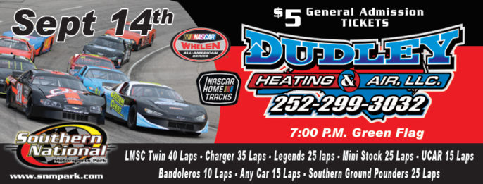 Dudley Heating & Air Night at the Races – Sept 14th