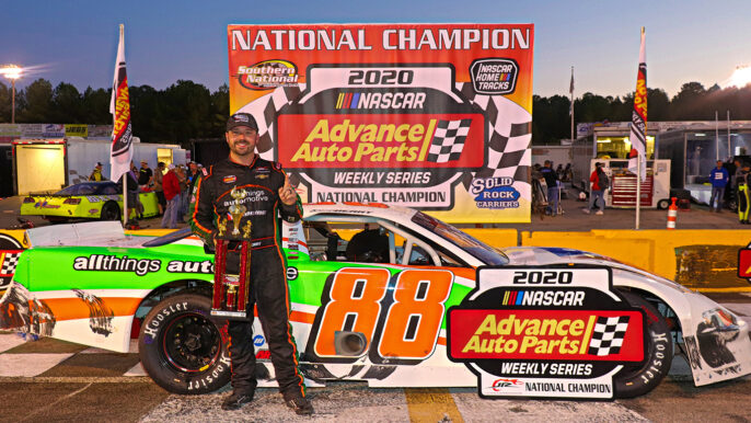 Josh Berry Clinches National Championship with Southern National Sweep